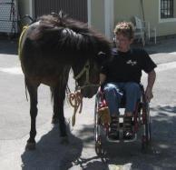 Nauti und der Rollstuhl