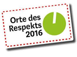 Orte des Respekts 2016 Logo